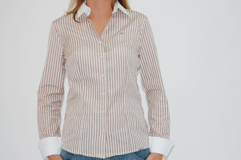 Hellás Fashion Store. .Lacoste Camisas feminino Camisa Lacoste ... 30f1a3c21379a