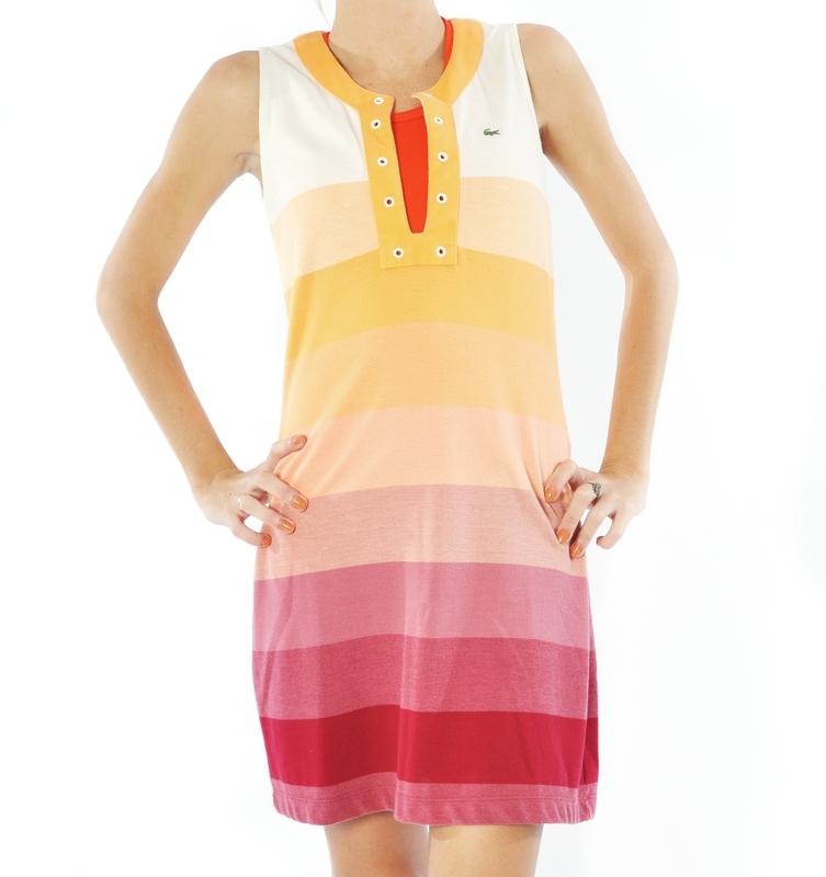 60251c23621c7 Hellás Fashion Store. .Lacoste Vestidos feminino Vestido Lacoste ...