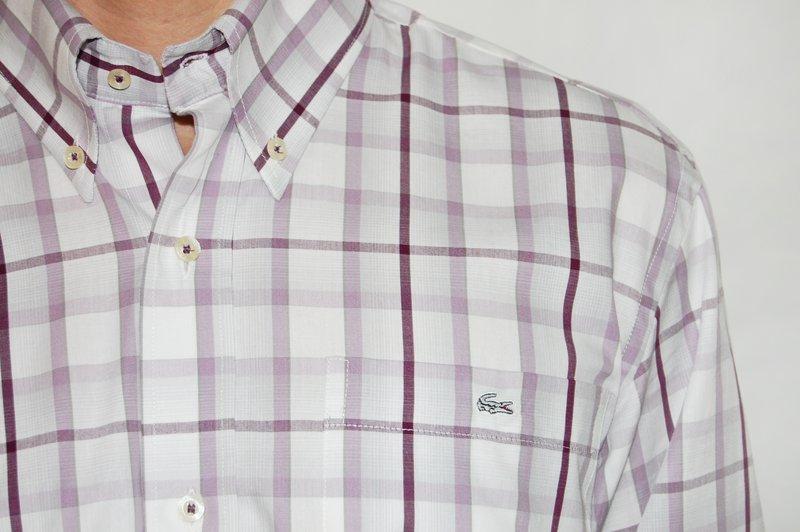 319b57ef0fea9 Hellás Fashion Store. .Lacoste Camisas masculino Camisa manga longa ...