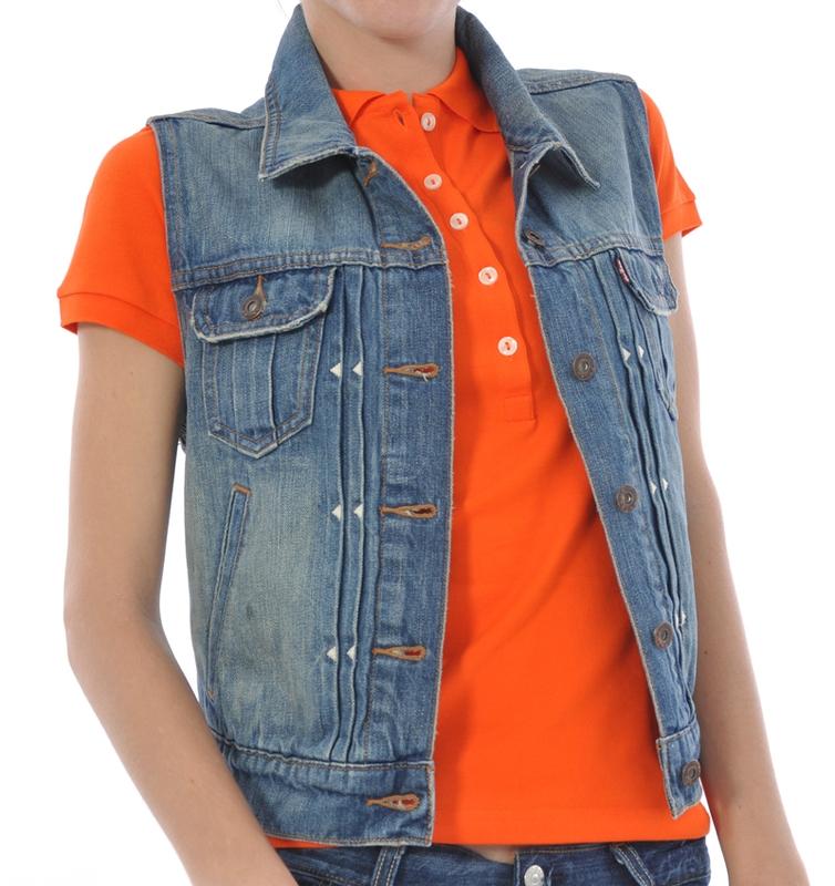 Hellás Fashion Store. .Levi´s Coletes feminino Colete Jeans Levi´s f8fdf9109340c