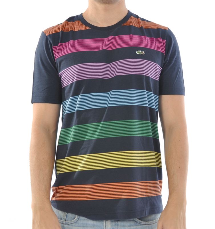 Hellás Fashion Store. .Lacoste Camisetas masculino Camiseta Lacoste ... 275da4a8f6