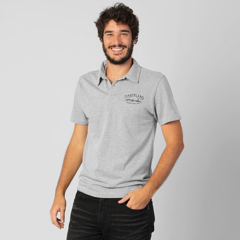 Hellás Fashion Store. .Timberland Camisas masculino Camisa Polo ... ea07c702c7115