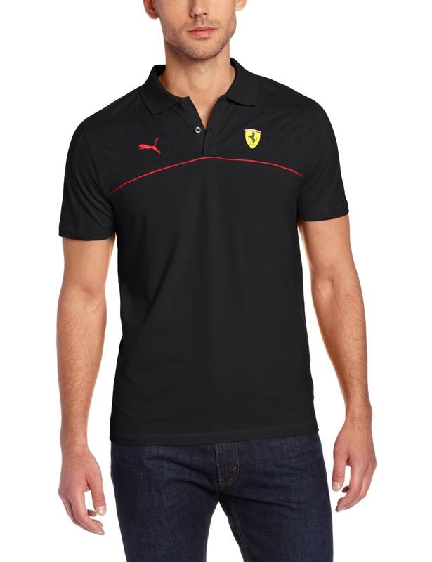 Hellás Fashion Store. .Puma Camisas masculino Camisa Polo Ferrari 761377 acfd921e35d