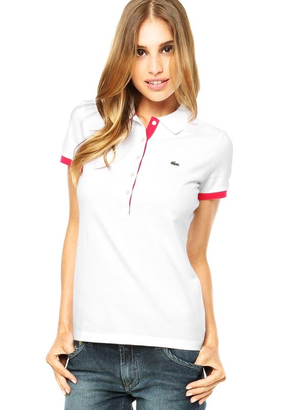 Hellás Fashion Store. .Lacoste Camisas feminino Camisa Polo Lacoste ... 0ebba1cdeb9