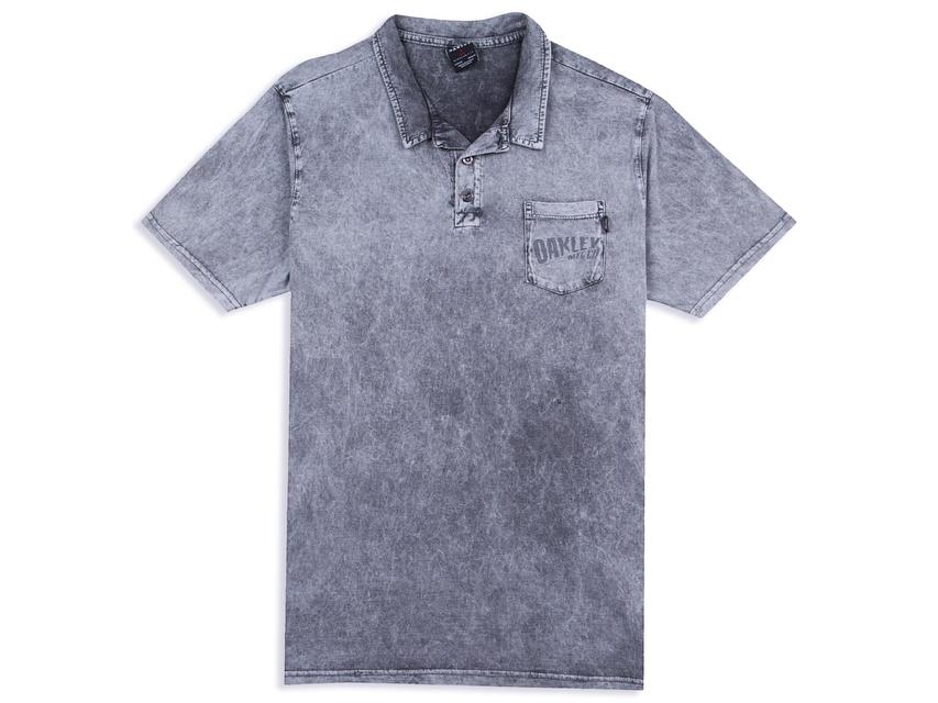 f3c13dc379 Hellás Fashion Store. .Oakley Camisas masculino Camisa Polo Oakley Black