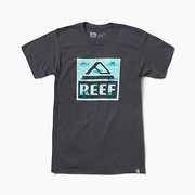 Camiseta Reef Logo Black