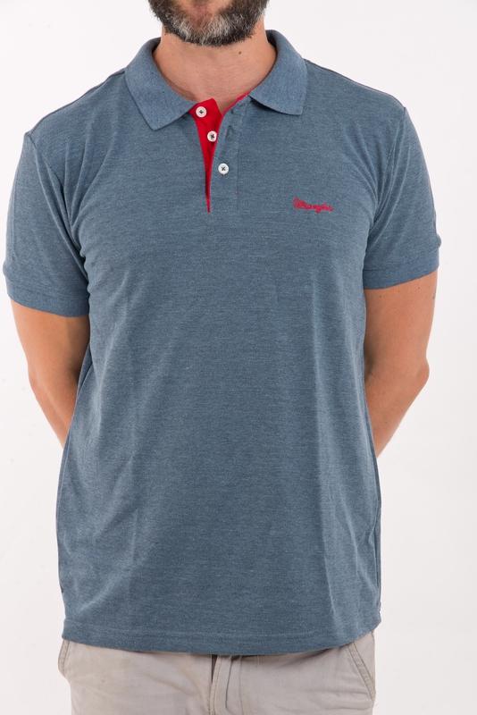Hellás Fashion Store. .Wrangler Camisas masculino Camisa Polo Wrangler 560c6cdea0c27
