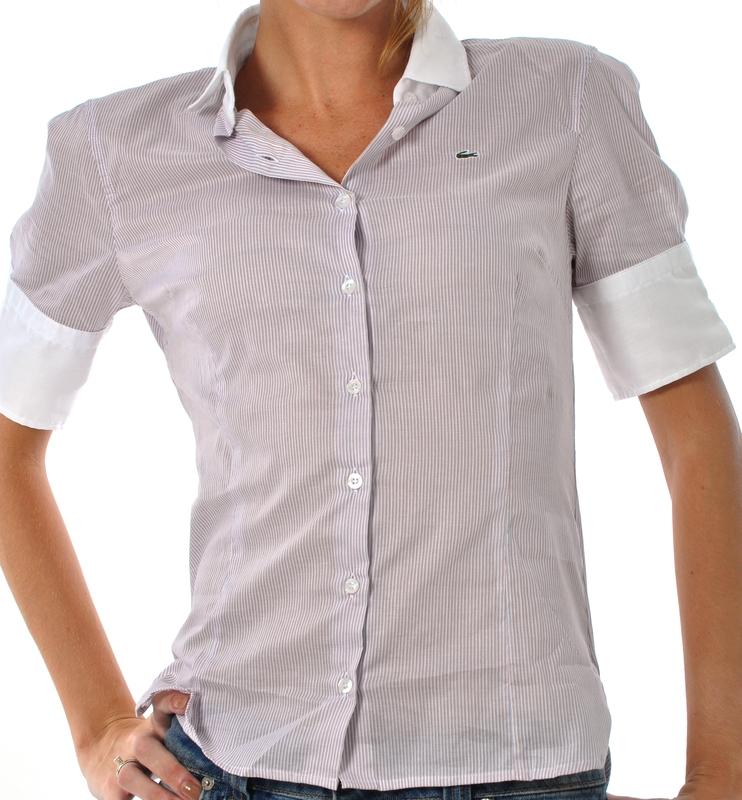 638eeb87ca059 Hellás Fashion Store. .Lacoste Camisas feminino Camisa Lacoste CF887021